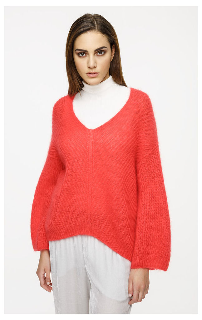 Mohair Wool Oversized Sweater