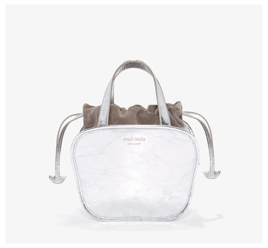 Rosetta Cross Body Bag Silver