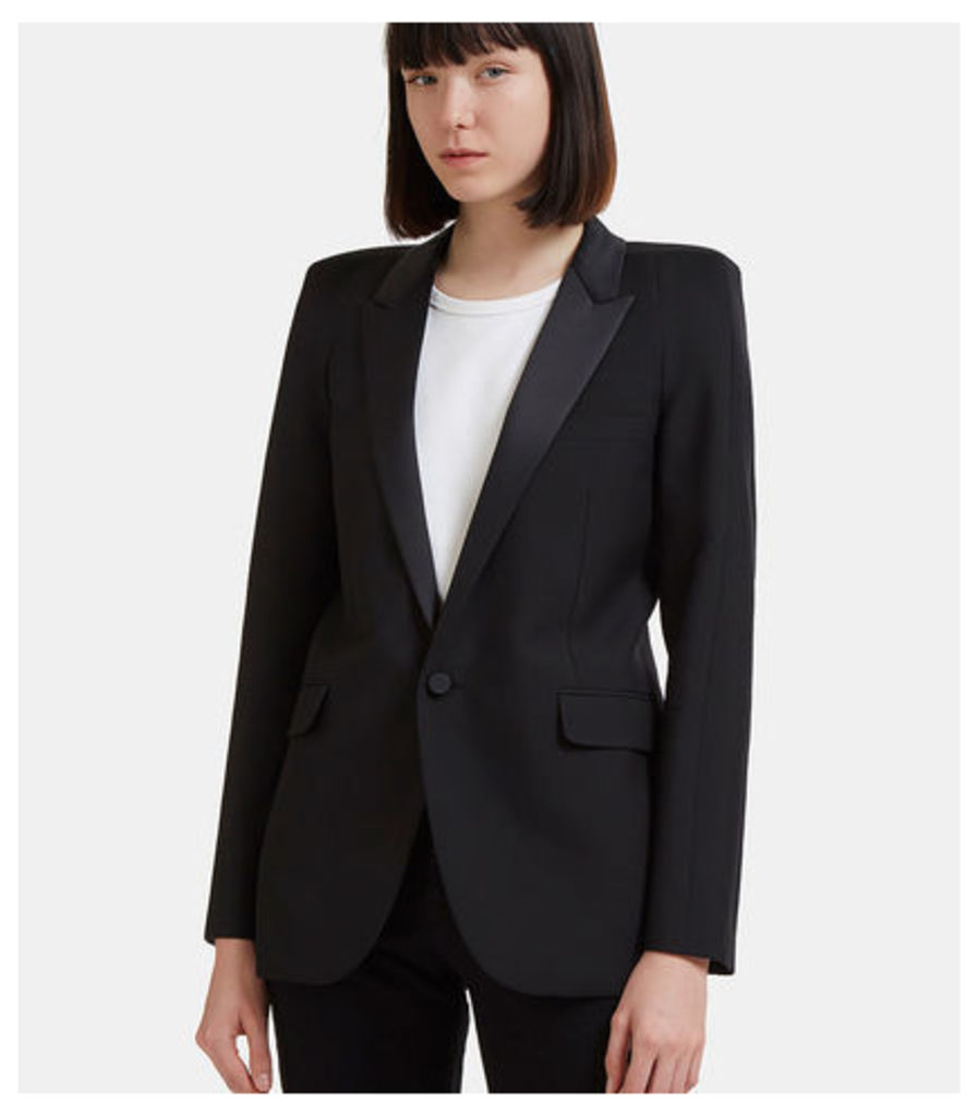 Square Shoulders Tux Jacket