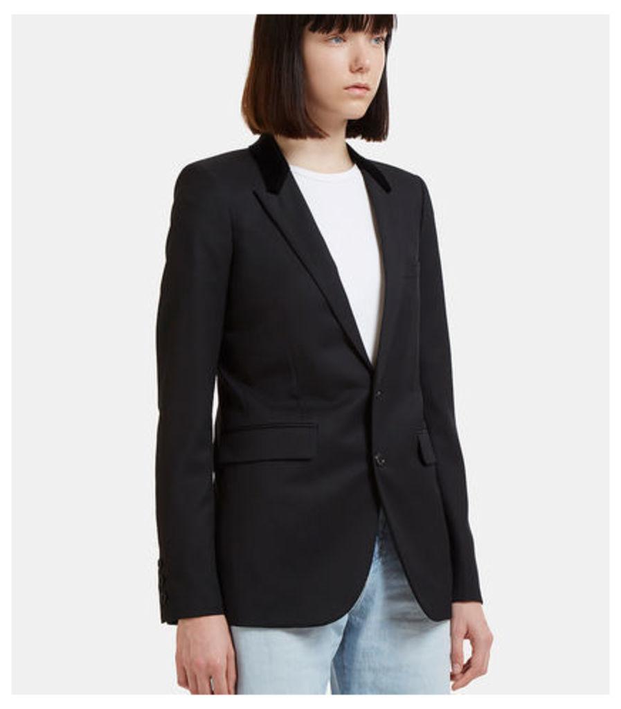 Velvet Collar Smoking Jacket