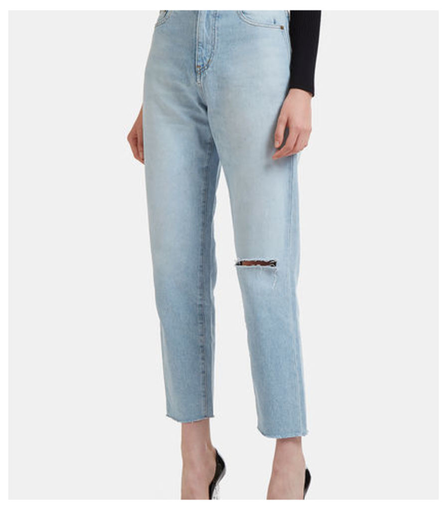 70's Baggy Knee Jeans