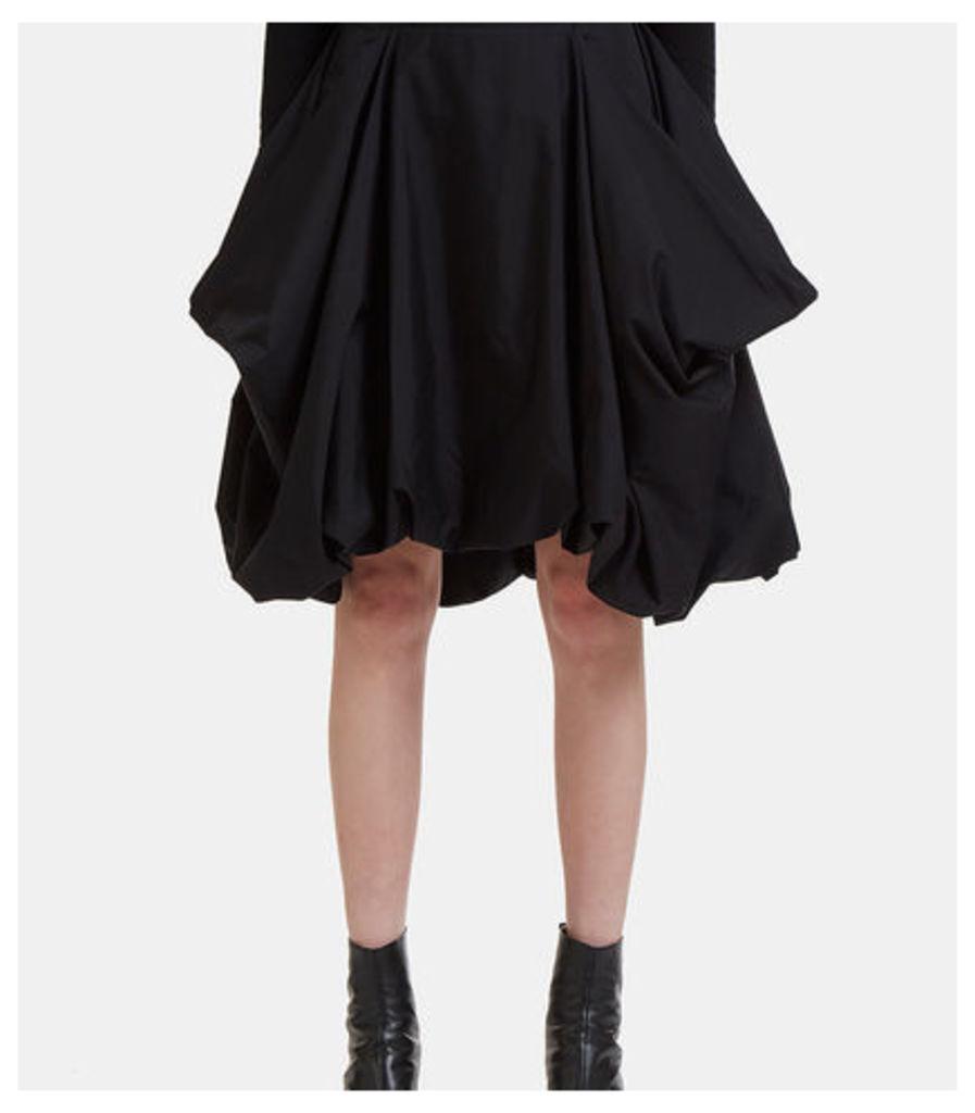 Draped Pocket Skirt