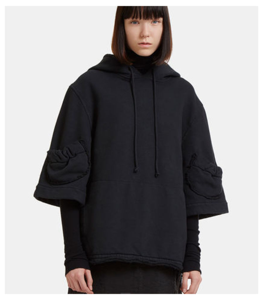 Raw Cut Hooded Sweater