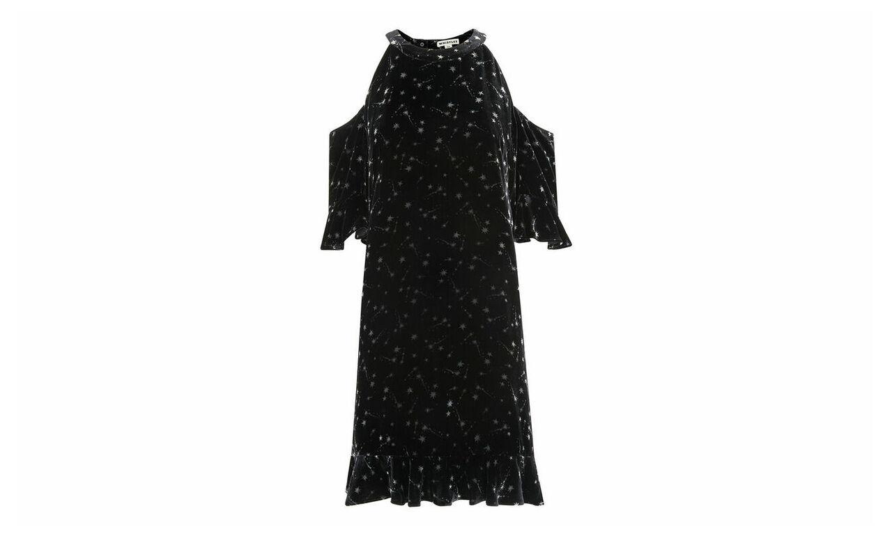 Velvet Constellation Dress