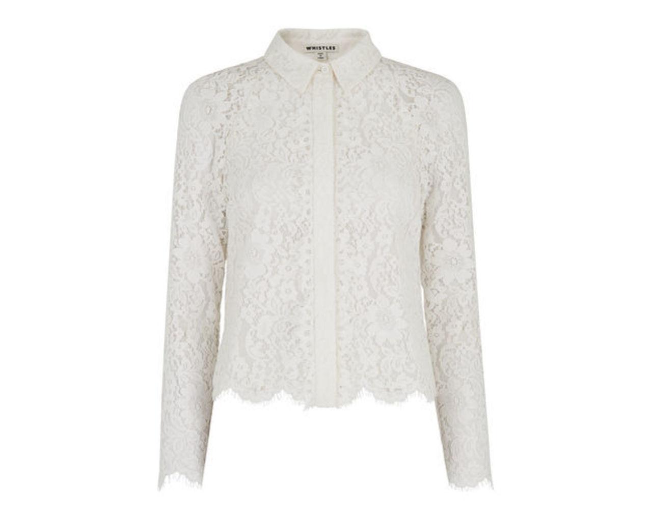 Suzie Lace Shirt