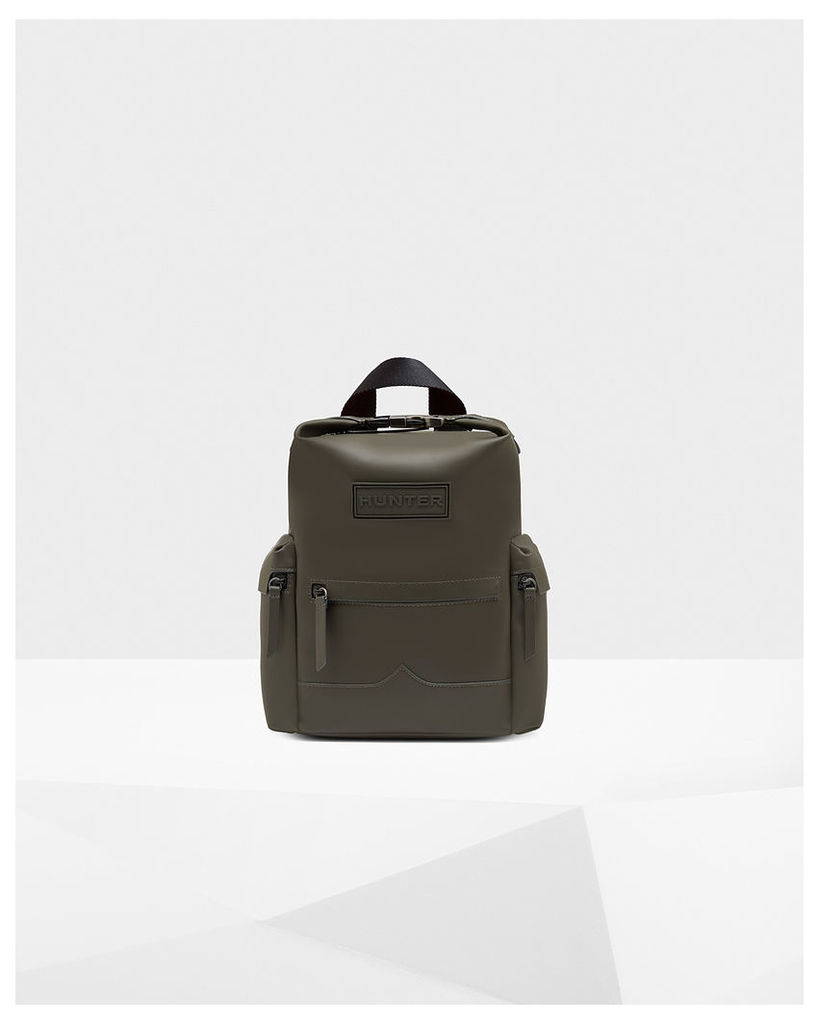 Original Mini Top Clip Backpack - Rubberised Leather