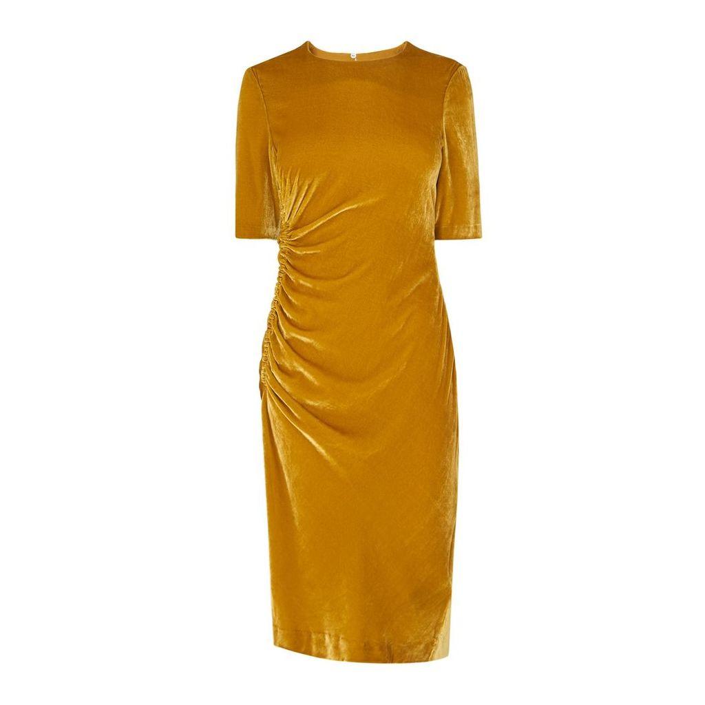 Kara Yellow Dress