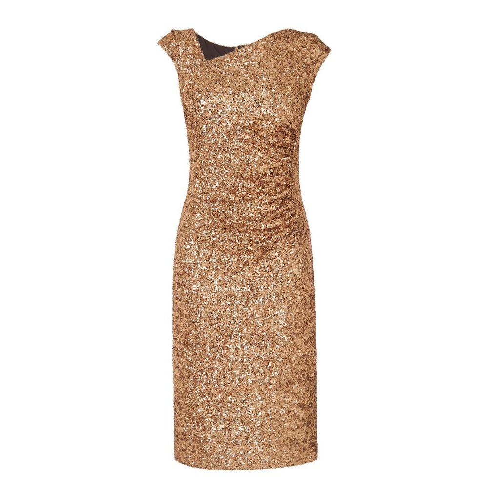Jazz Gold Dress