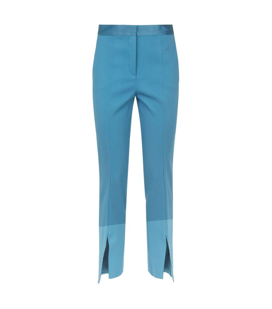 Split Hem Trousers