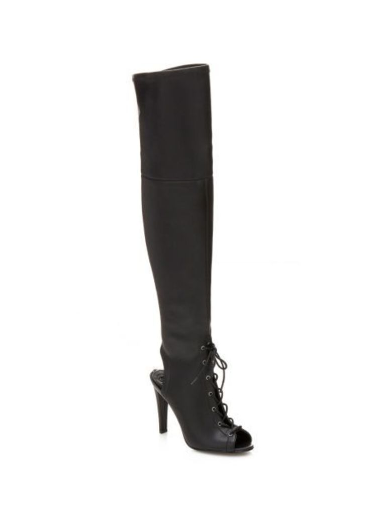 Guess Ceeli Lace-Up High Boot