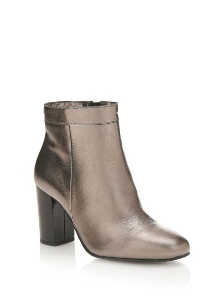 Guess Dory Laminated Leather Bootie