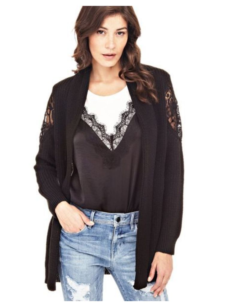 Guess Lace Detail Cardigan