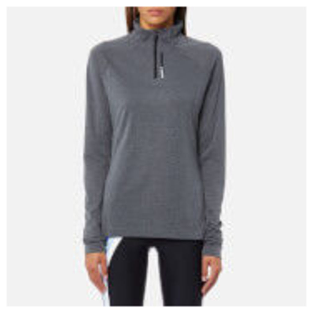 adidas Terrex Women's Tracero 1/2 Zip Long Sleeve Top - Grey Five