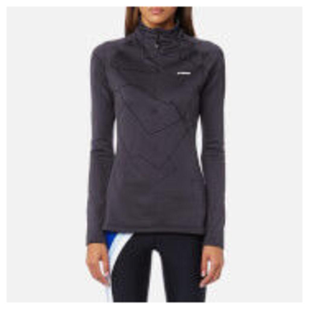 adidas Terrex Women's Icesky 2 Long Sleeve Fleece Jumper - Utility Black