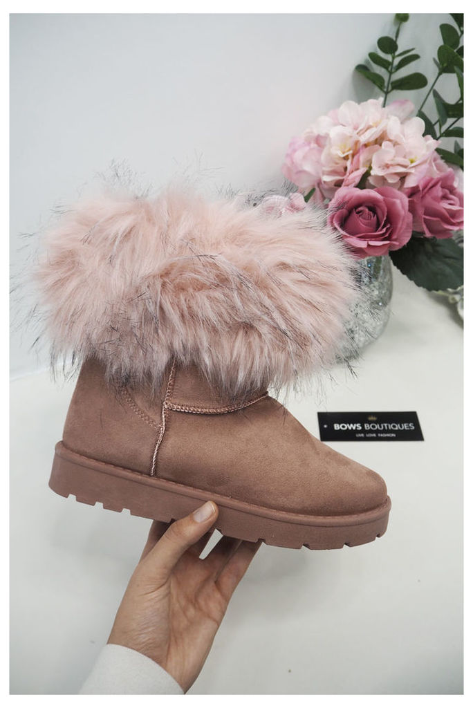 Mercey Faux Fur Ugg Style Boots