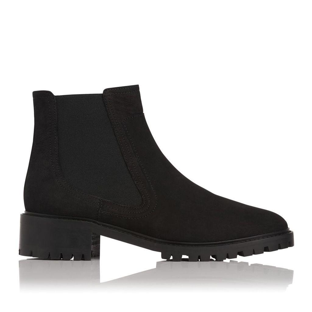 Jada Black Ankle Boots