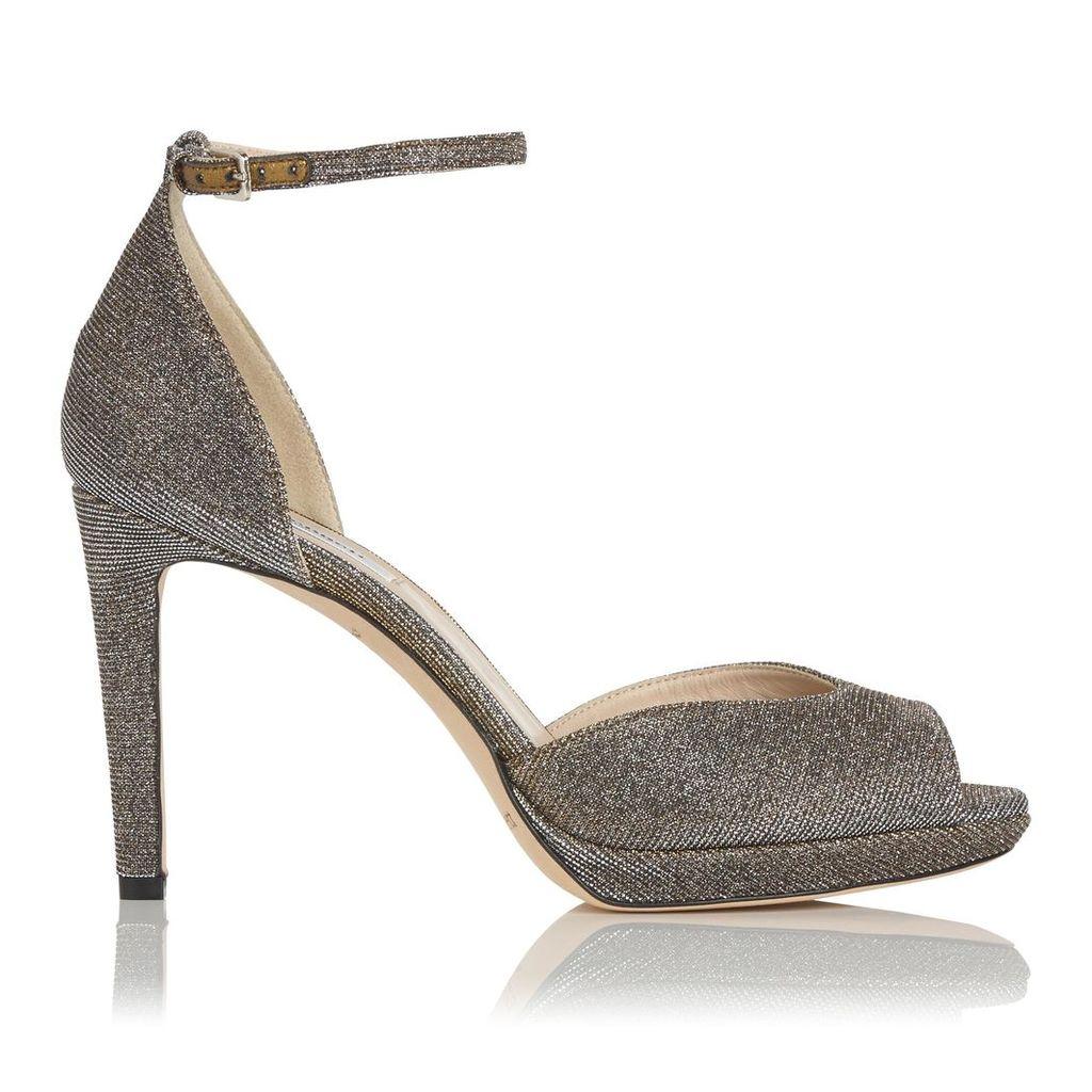 Yasmin Bronze Formal Sandals