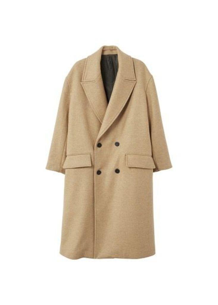 Oversize wool coat