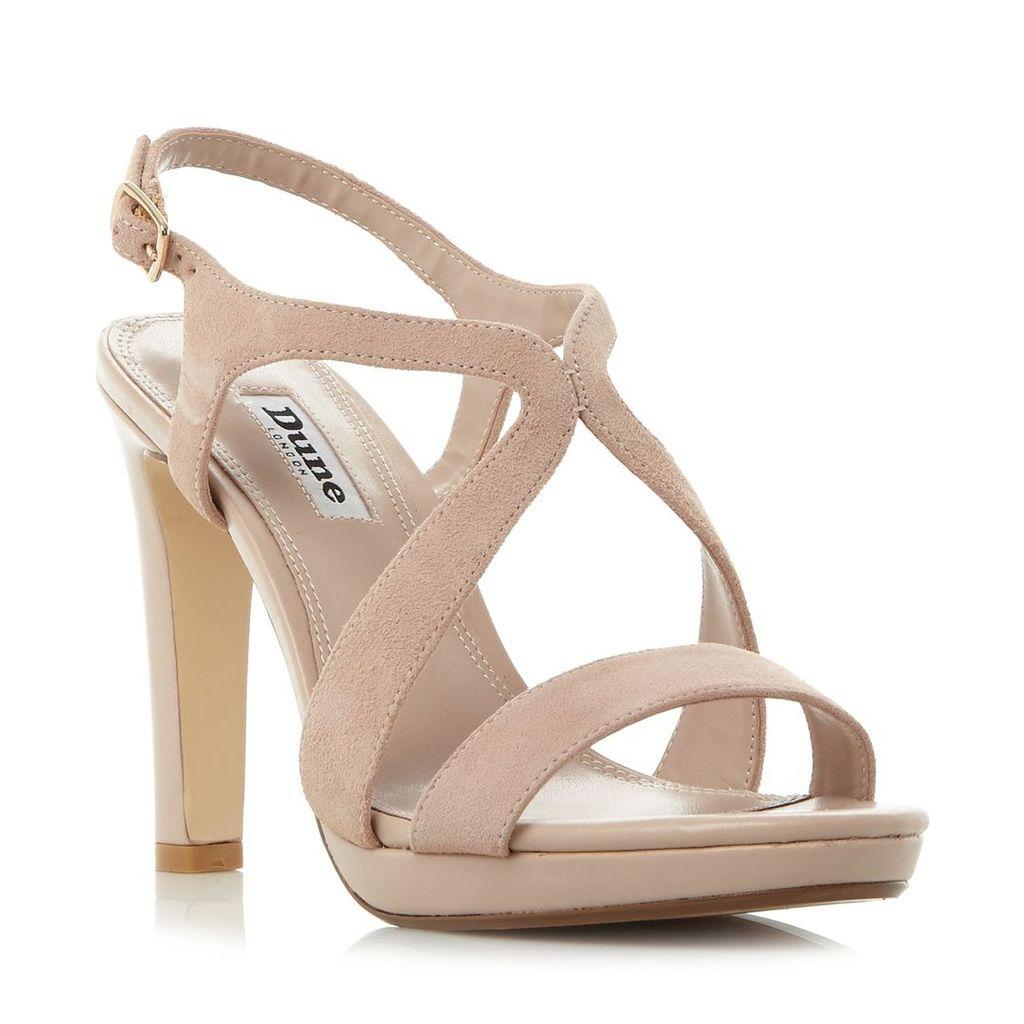 Maya Strap Detail Slim Platform Sandal