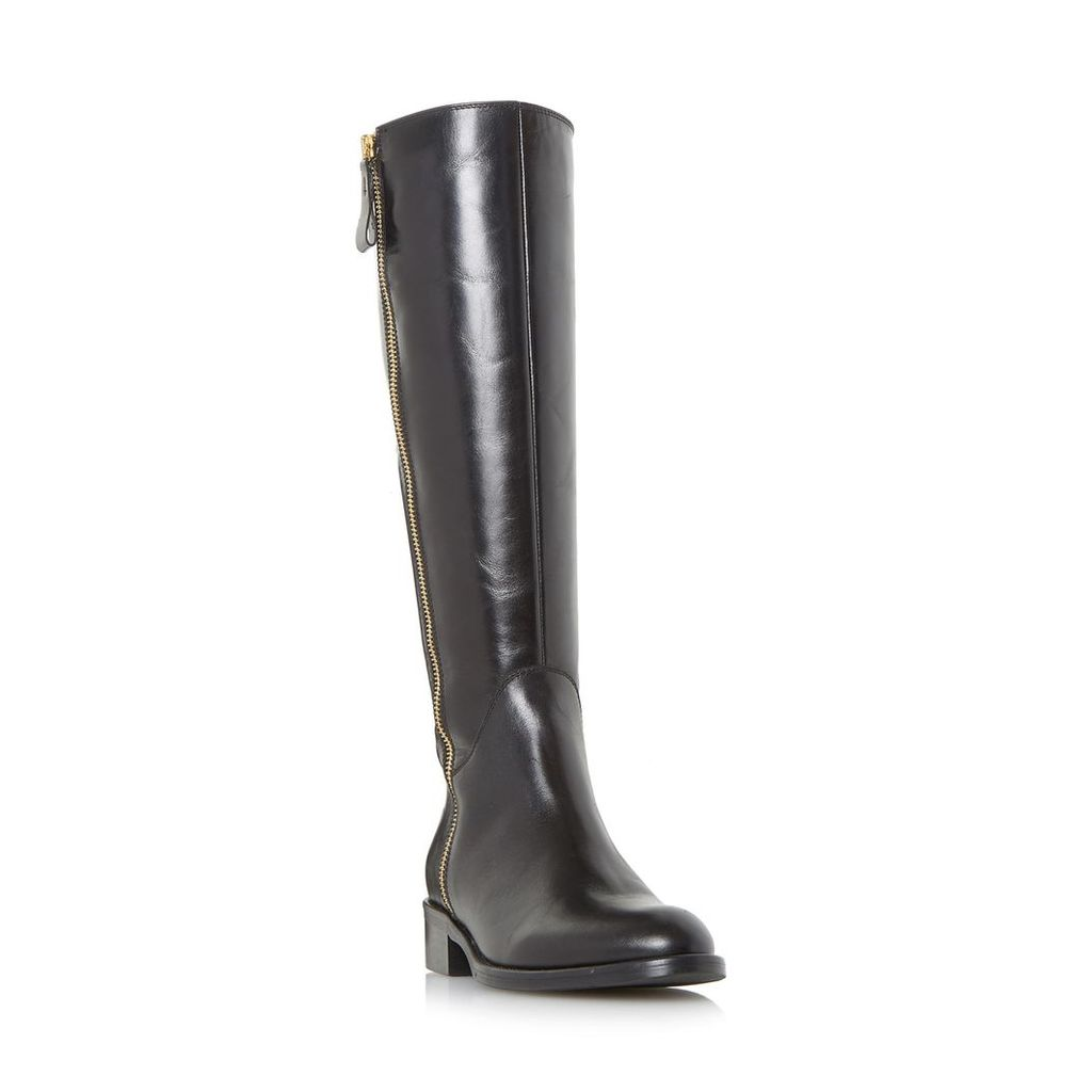 Tillyy Side Zip Leather Riding Boot