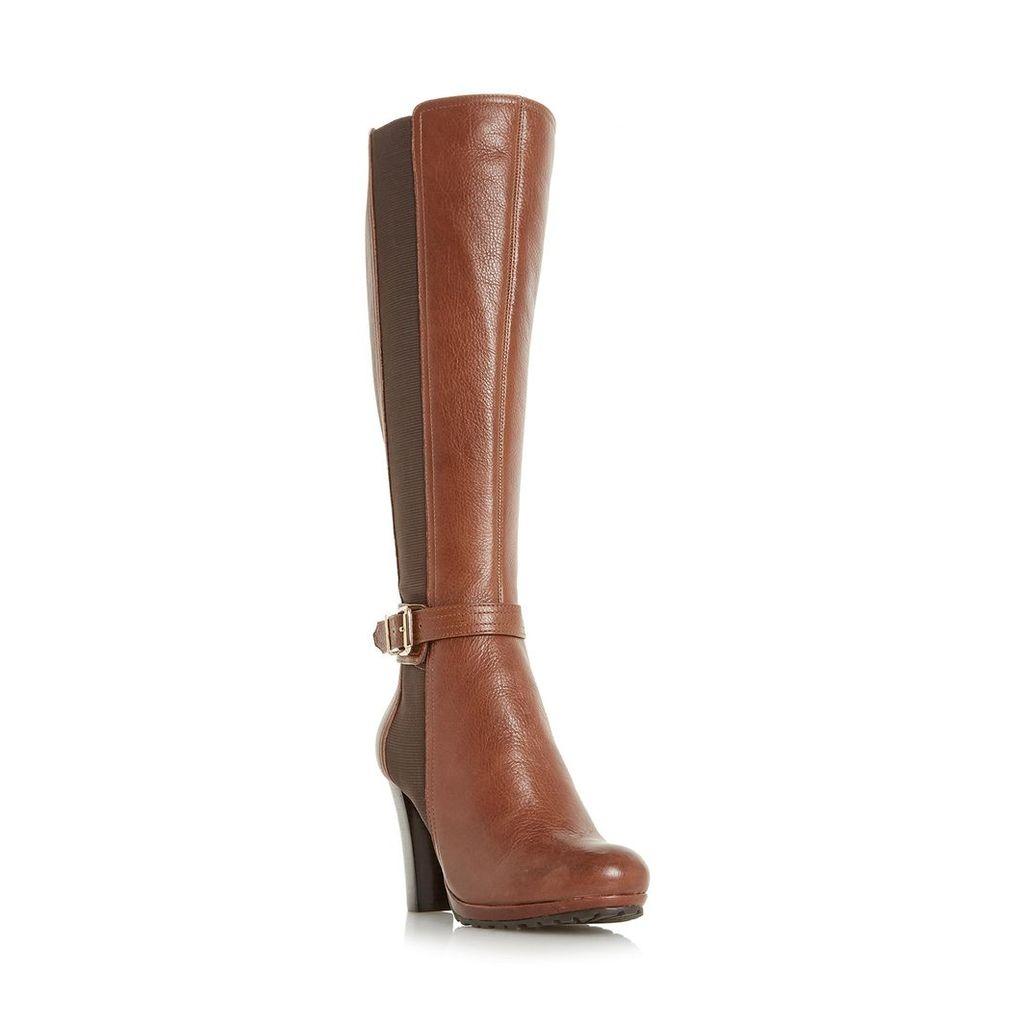 Sebb Stretch Panel Knee High Boot