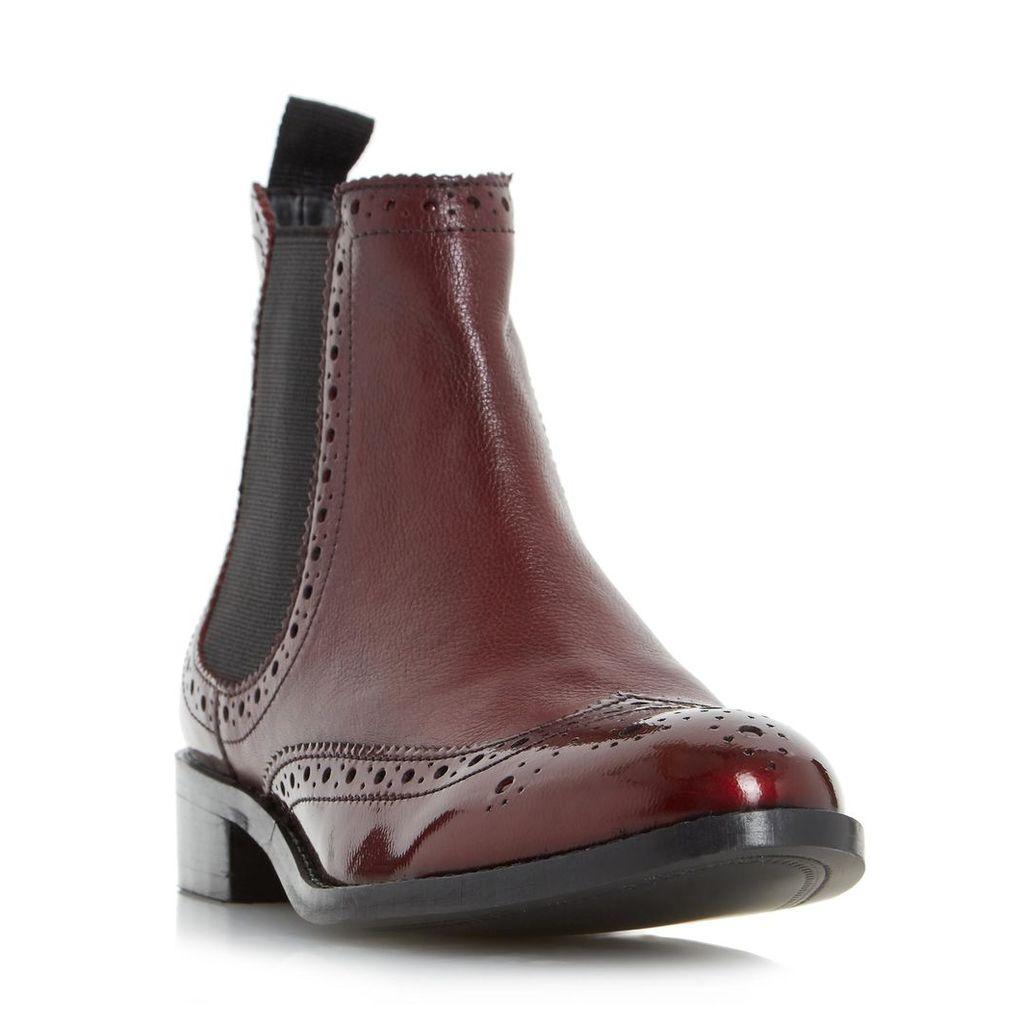 Quenton Brogue Chelsea Boot