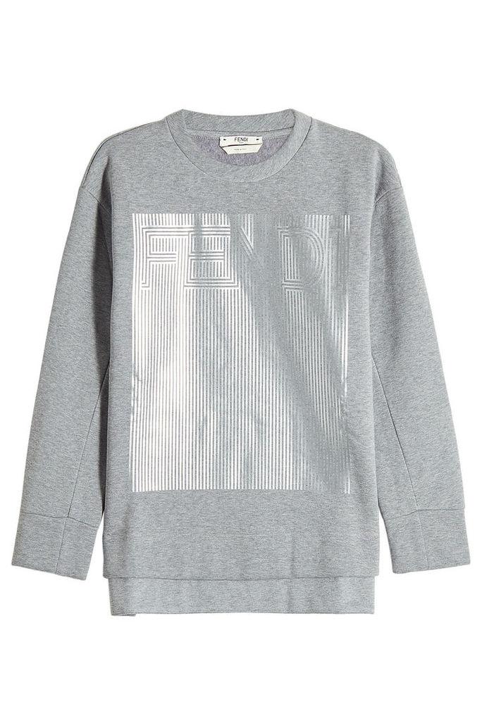 Fendi Sweatshirt with Cotton