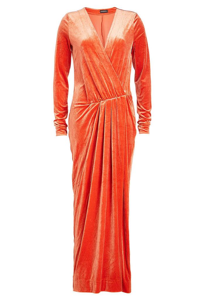 By Malene Birger Velvet Dress
