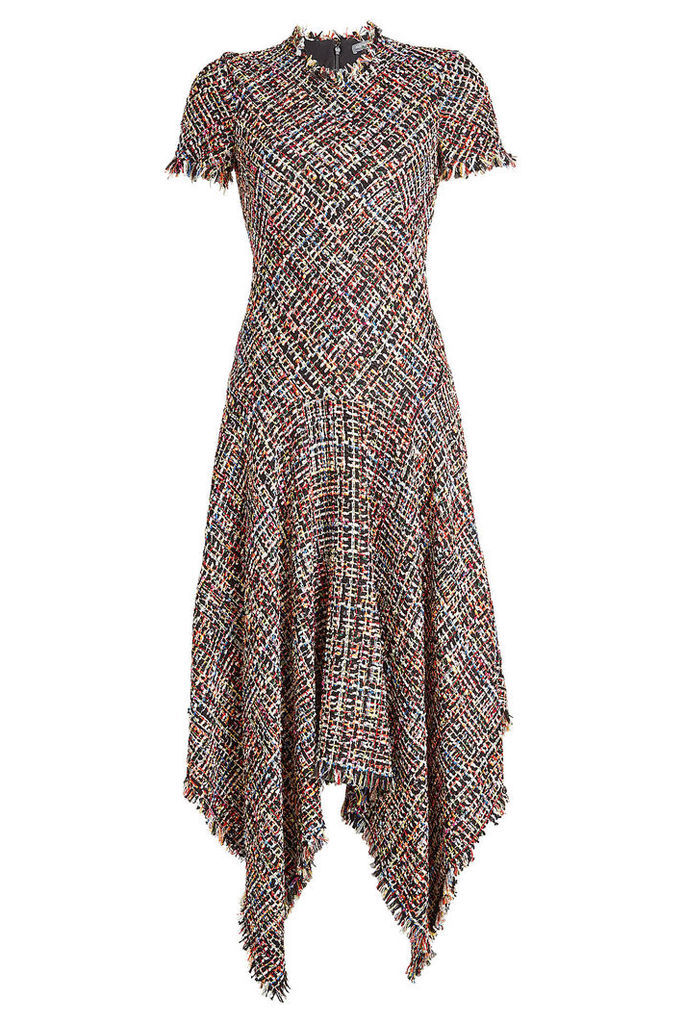 Alexander McQueen Dress with Cotton and Wool