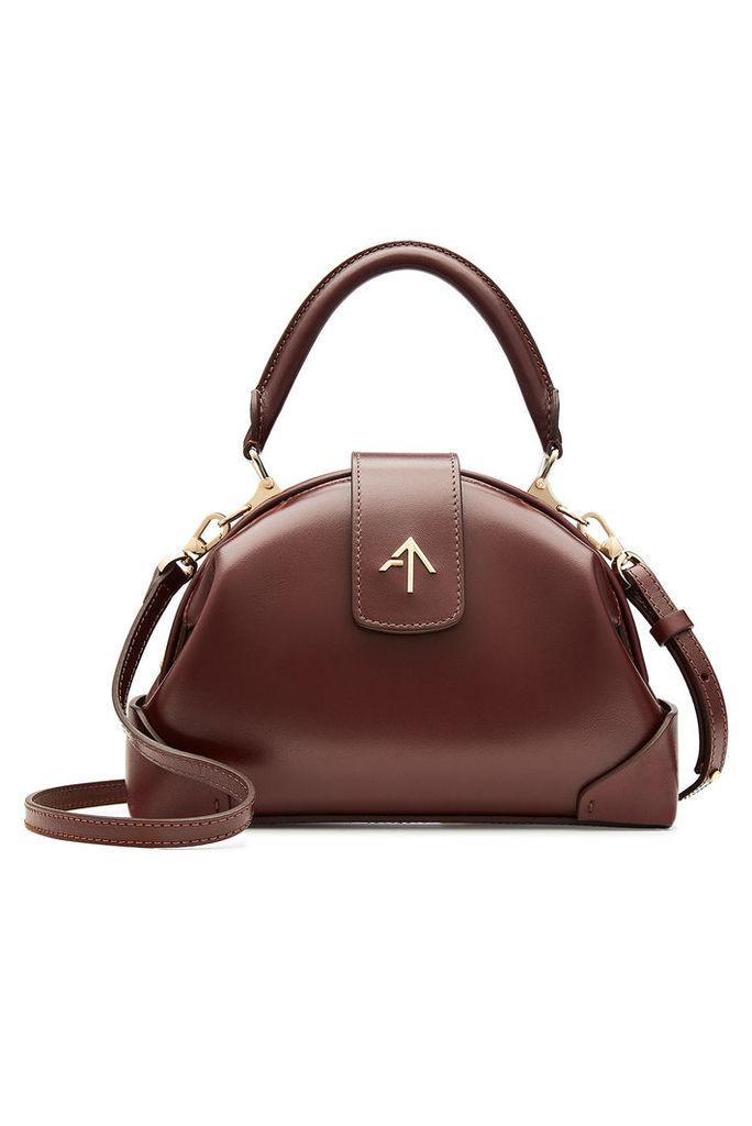 Manu Atelier Demi Leather Shoulder Bag