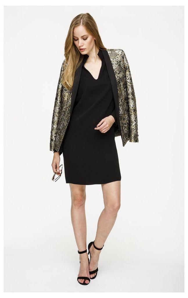Pure Silk Longsleeve Dress
