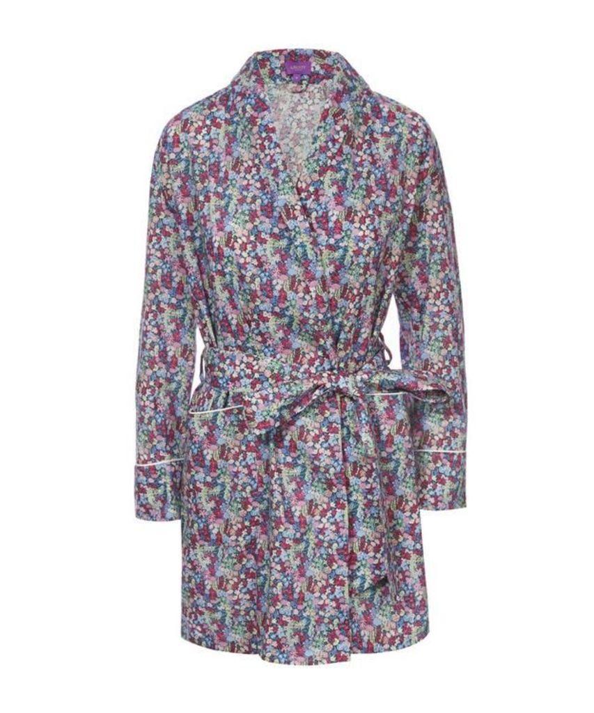 Emily Jane Short Cotton Robe