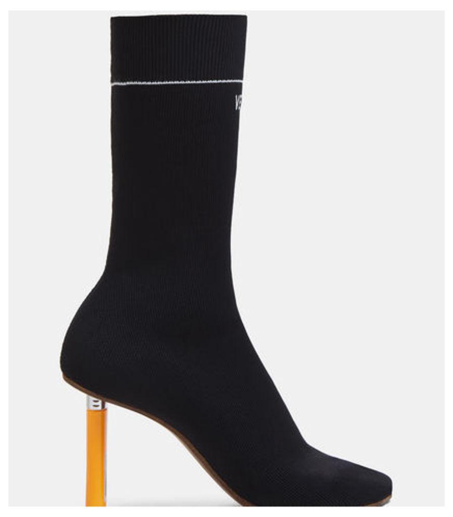 Lighter Heel Sock Boots