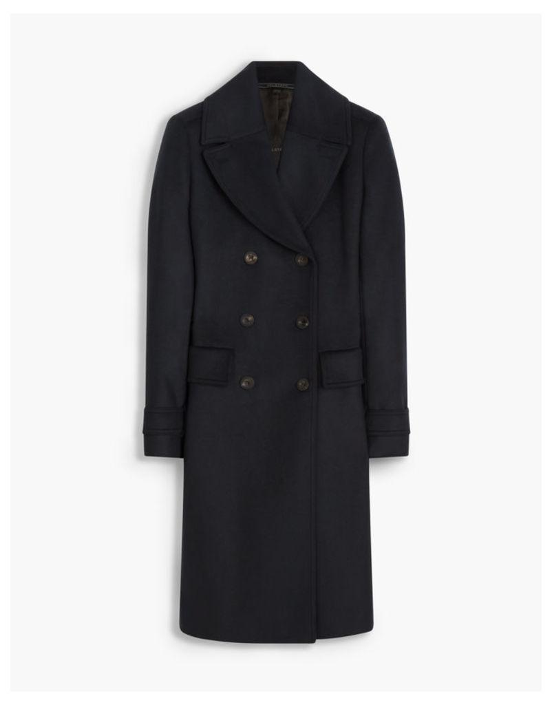 Belstaff Delmere Coat Blue
