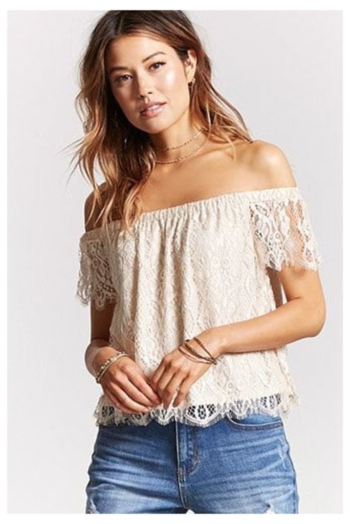 Contemporary Lace Top