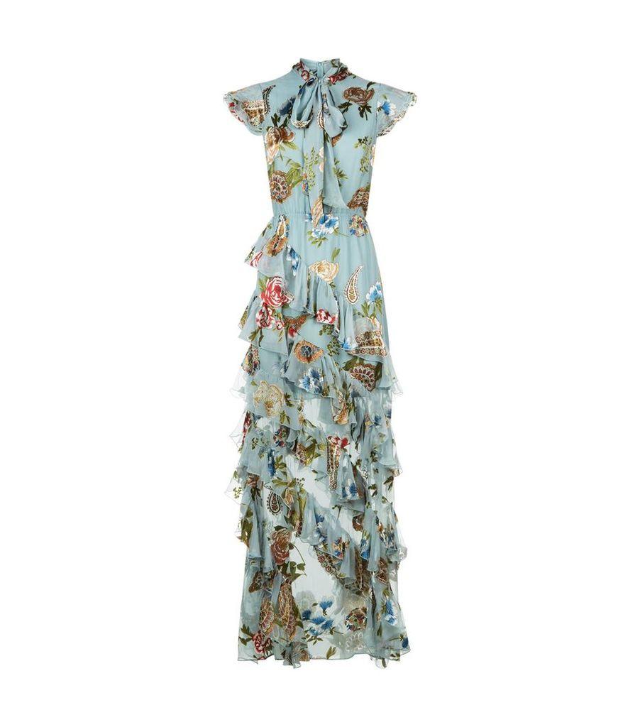 Lessie Floral Maxi Dress