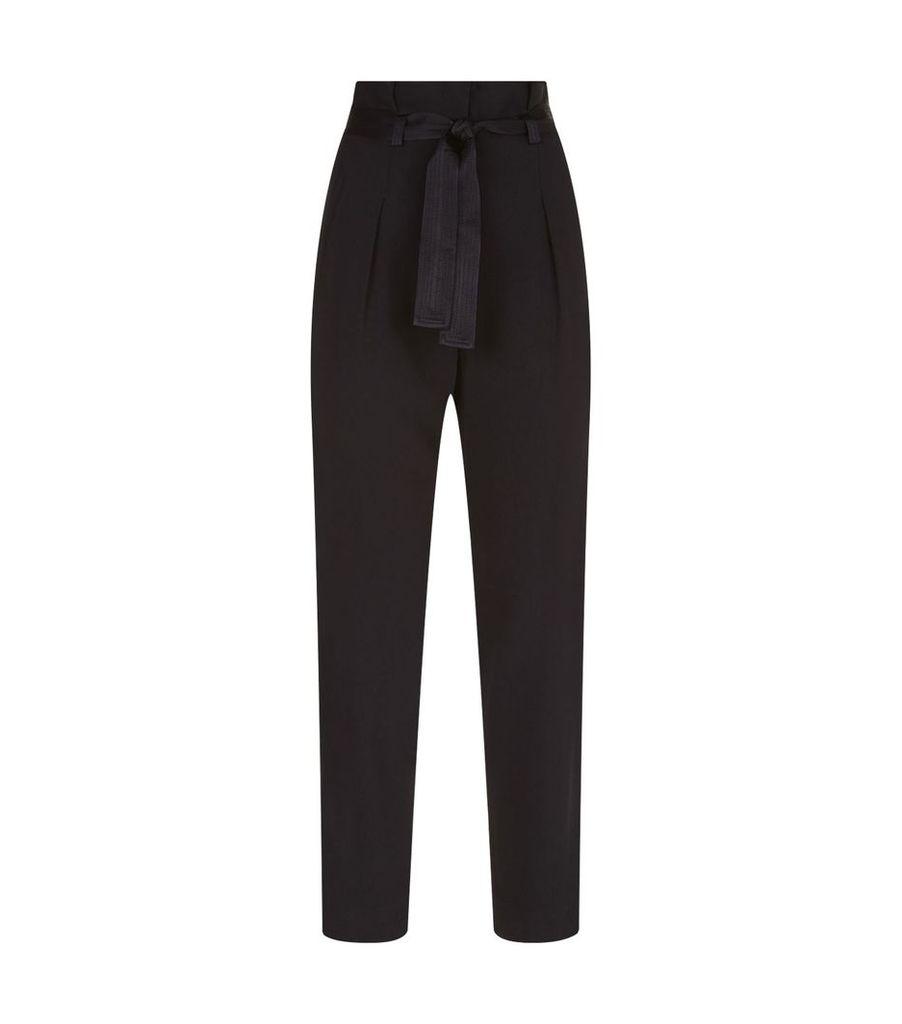 Waist Tie Trousers