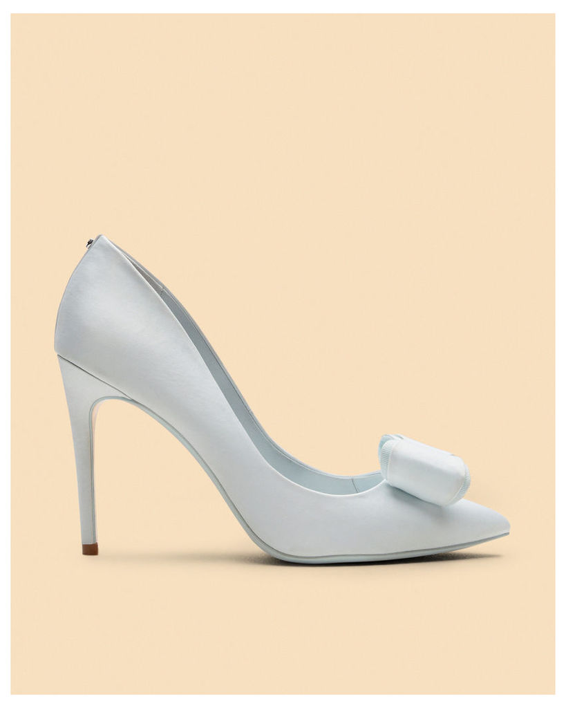 Ted Baker Bow detail satin courts Mint