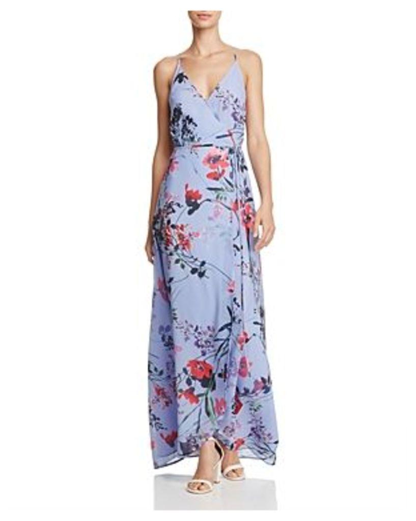 Yumi Kim Floral Wrap Maxi Dress