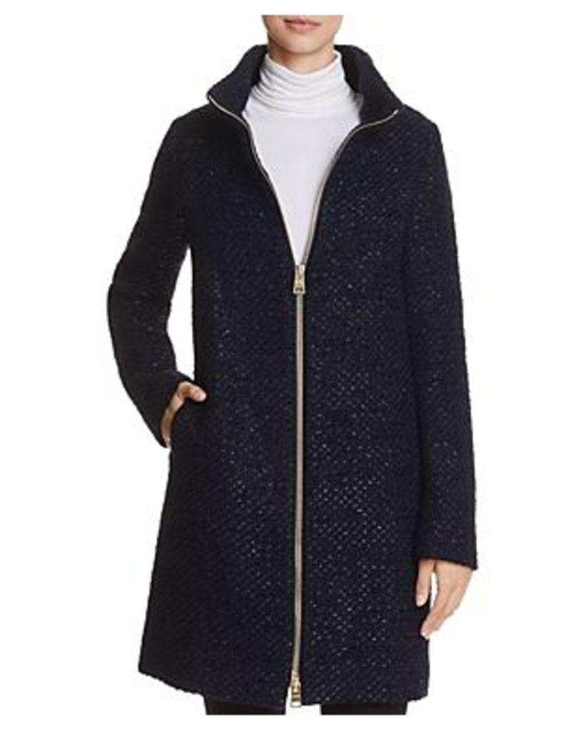 Herno Shimmer Boucle Coat