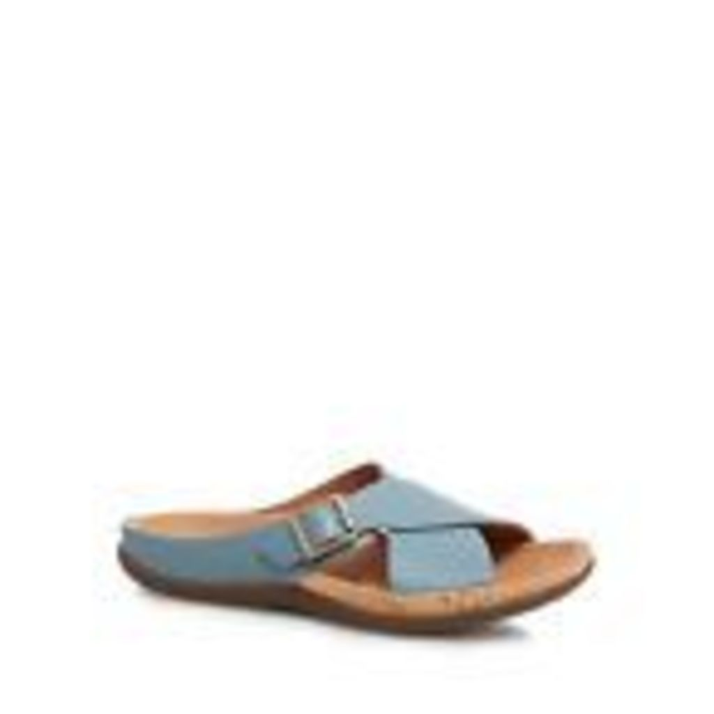 Strive Light Turquoise Leather Blend 'Maria' Sandals From Debenhams 5