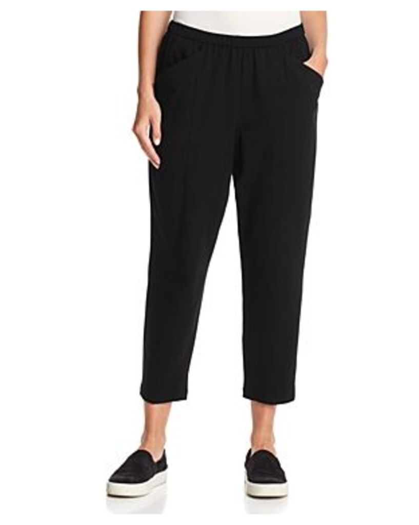 Eileen Fisher Petites Tapered Crop Pants