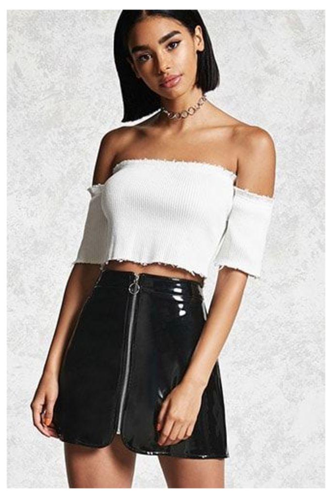 Contemporary Zip-Up Skirt