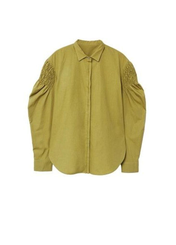 Ruched detail shirt