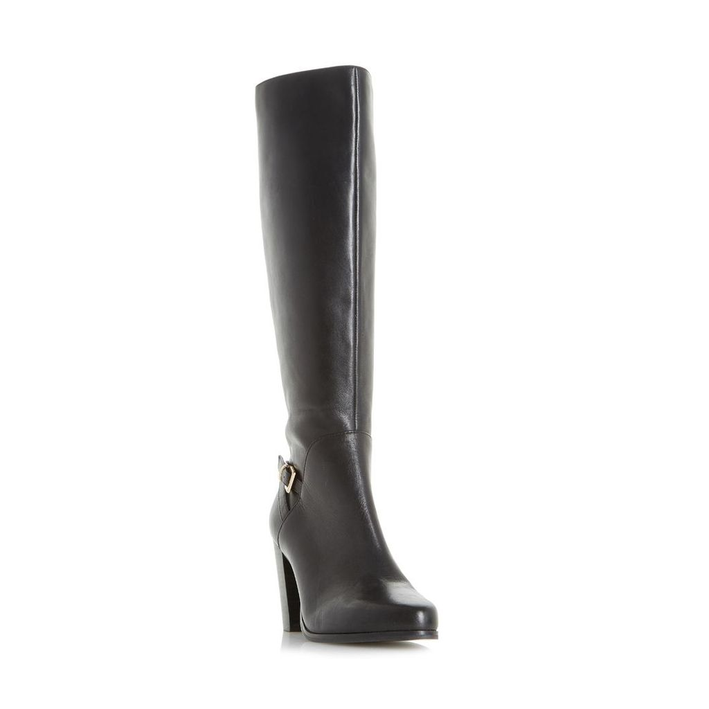 Samuelle Knee High Buckle Strap Boot