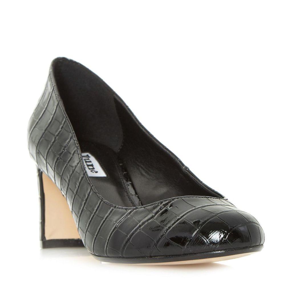 Adena Mid Block Heel Court Shoe