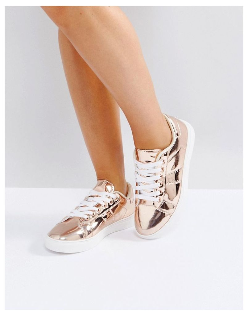 Truffle Collection Clean Sneaker - Rose hishine