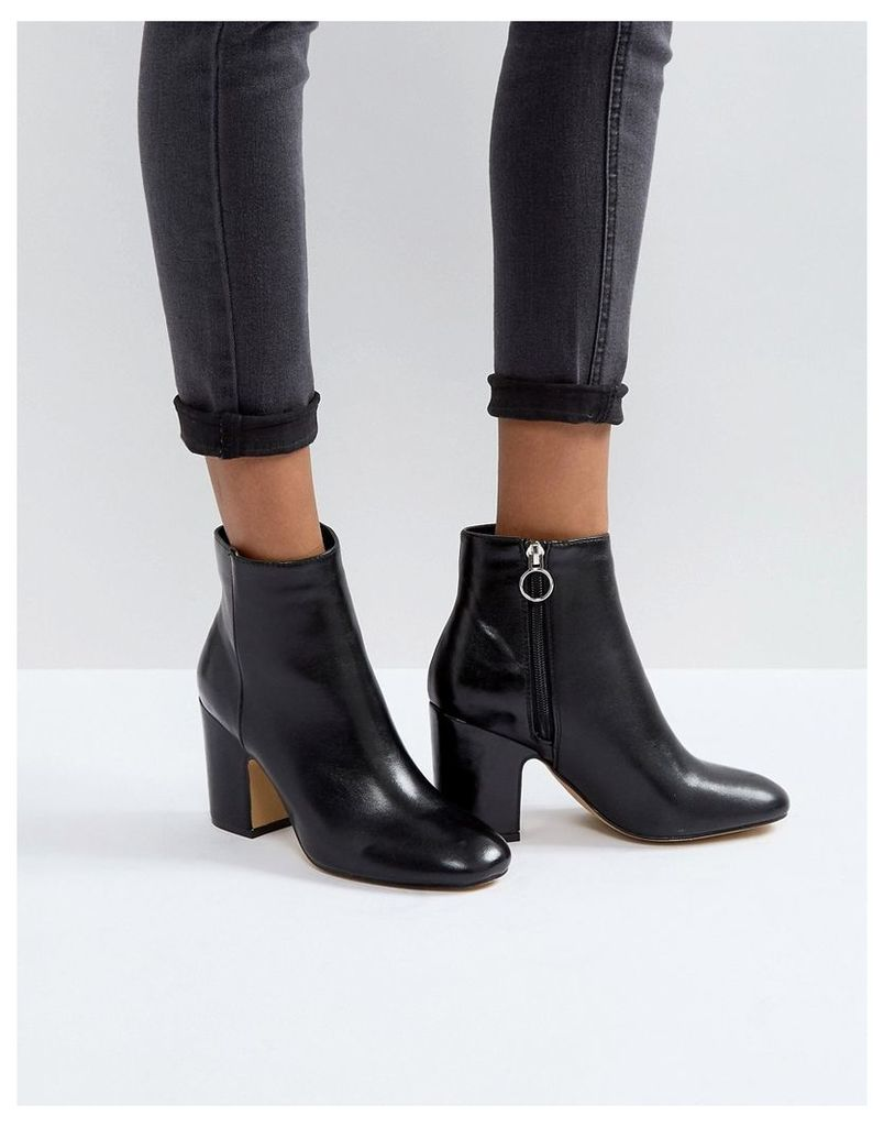 Pimkie Heeled Ankle Boots - Black