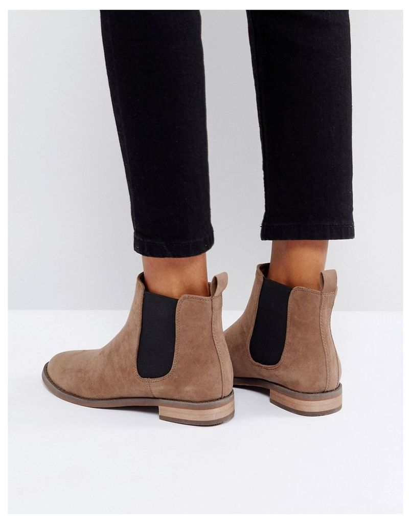 Miss KG Flat Chelsea Boots - Taupe