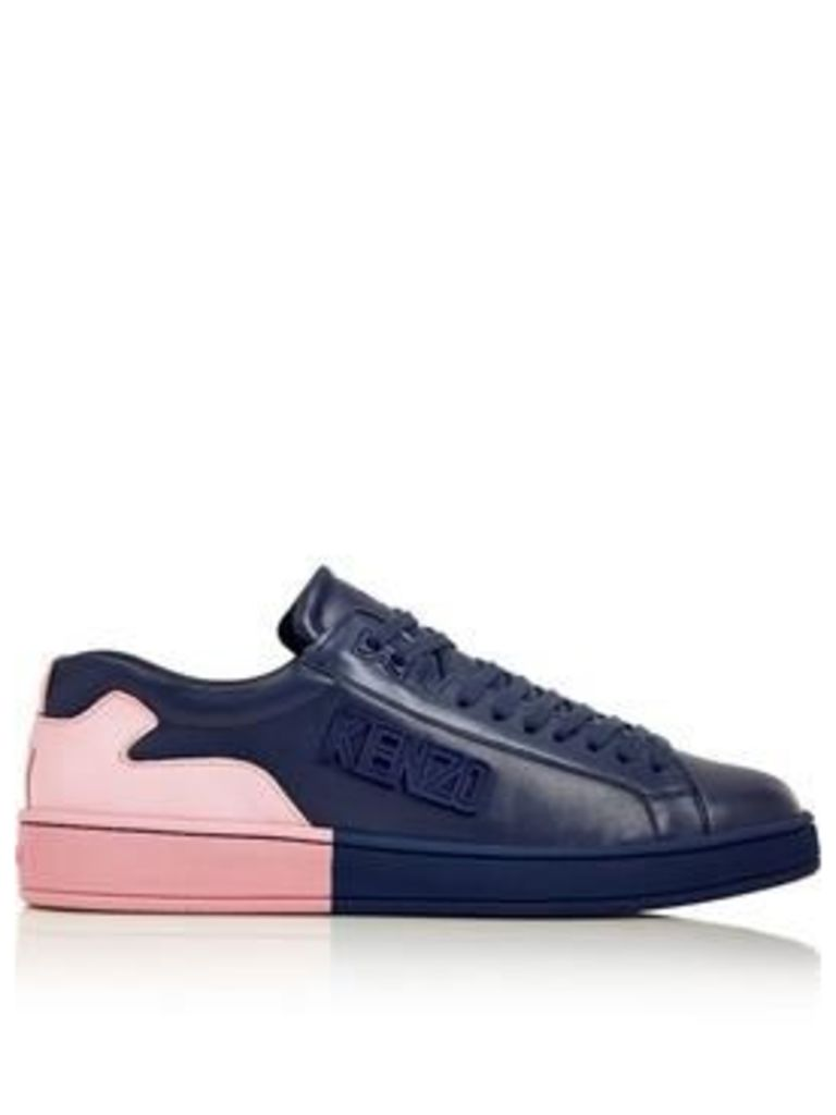 Kenzo Colour Block Trainers - Navy/Pink